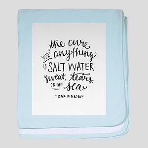 Salt Water Cure baby blanket