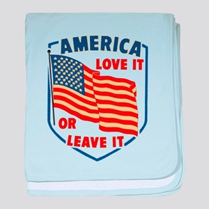 America Love it baby blanket
