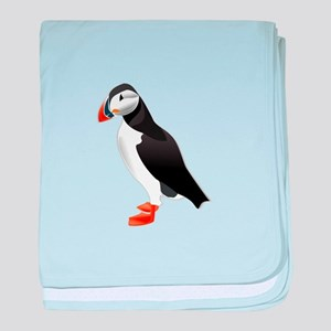 Puffin md baby blanket
