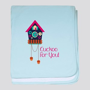 cuckoo for you! baby blanket