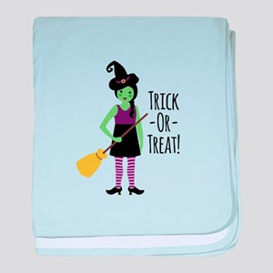 Trick - Or - Treat! baby blanket