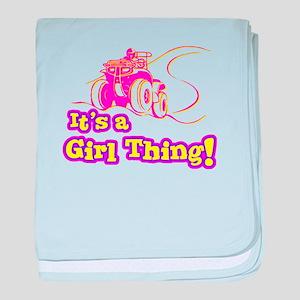 4x4 Girl Thing Infant Blanket