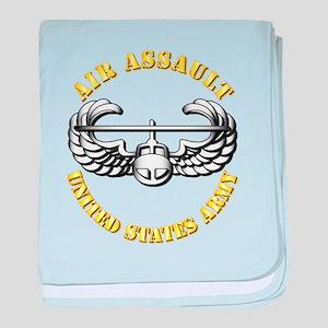 Emblem - Air Assault baby blanket