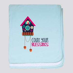 Count Your Blessincs baby blanket