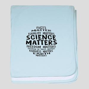 Science Matter Bubble baby blanket