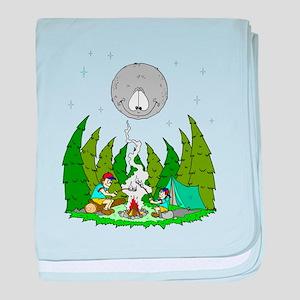 Camping FUN baby blanket