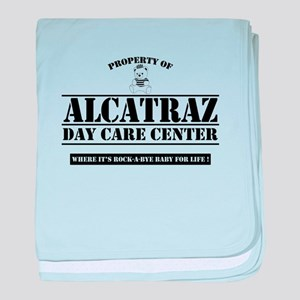 ALCATRAZ DAYCARE baby blanket
