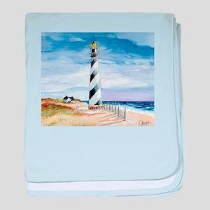 American Lighthouse baby blanket