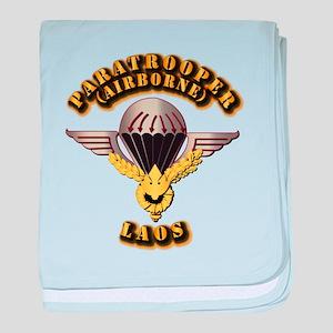 Airborne - Laos baby blanket