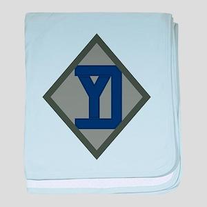 26th Infantry Yankee Div baby blanket