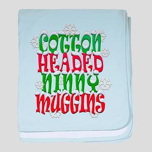 COTTON HEADED NINNY MUGGINS baby blanket