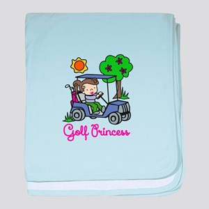 Golf Princess baby blanket
