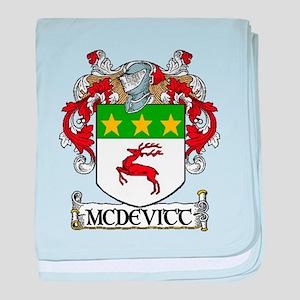 McDevitt Coat of Arms baby blanket