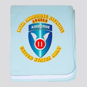 Army - 11th Airborne Division baby blanket