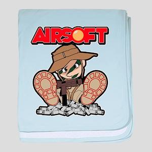 Airsoft Mac attack baby blanket