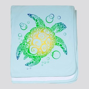 Sea Turtle baby blanket