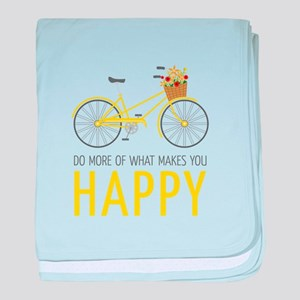 Makes You Happy baby blanket