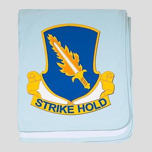 DUI - 1st Brigade Combat Team baby blanket