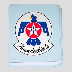 USAF Thunderbirds Emblem baby blanket