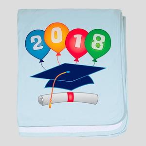2018 Grad baby blanket