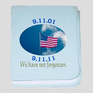 9-11 Not Forgotten baby blanket