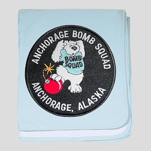 Anchorage Bomb Squad baby blanket