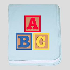 ABC Blocks baby blanket