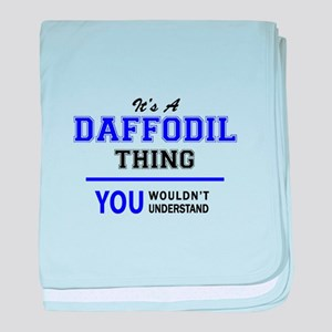It's DAFFODIL thing, you wouldn't und baby blanket