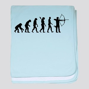 Evolution Archery baby blanket