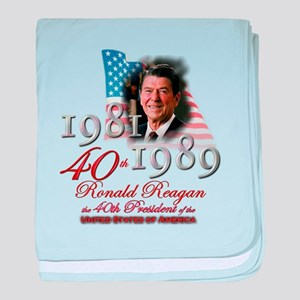 40th President - Infant Blanket