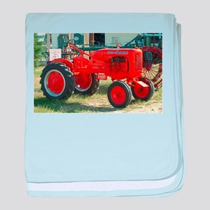 Allis Chalmers Tractor baby blanket