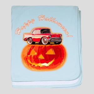 BabyAmericanMuscleCar_57BelR_Halloween baby blanke