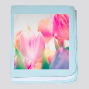 Beautiful Tulips baby blanket