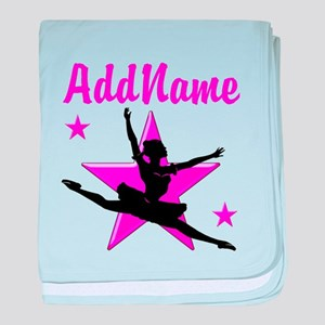 DANCE SUPER STAR baby blanket