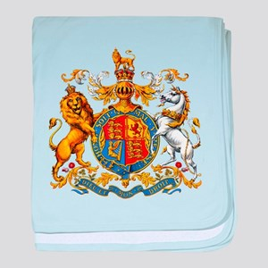 Royal Coat Of Arms baby blanket