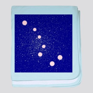 The Big Dipper Constellation baby blanket