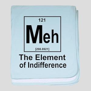 Element Meh baby blanket