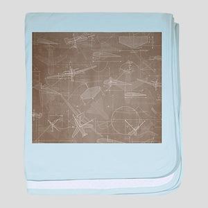Aerodynamics baby blanket