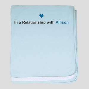 Allison Relationship baby blanket