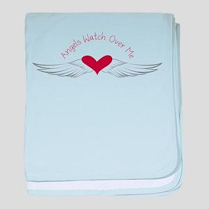 Angels Watch baby blanket