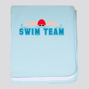 Swim Team baby blanket