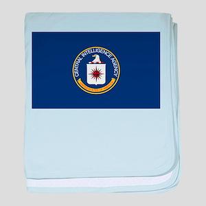 CIA Flag baby blanket