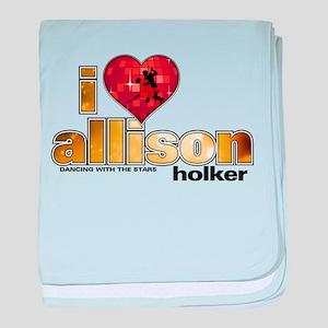 I Heart Allison Holker Infant Blanket