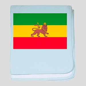 Ethiopia Flag Lion of Judah Rasta Reggae baby blan