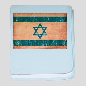 Israel Flag baby blanket