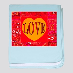 BE MY LOVE baby blanket