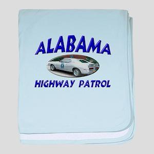 Alabama Highway Patrol baby blanket