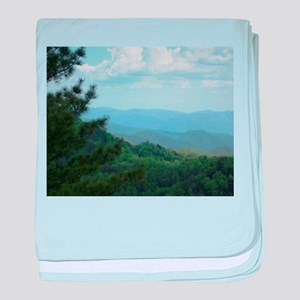 Great Smoky Mountains baby blanket