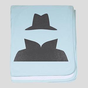 Secret Agent Spry Spy Guy baby blanket