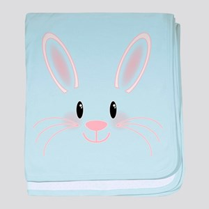 Bunny Face baby blanket